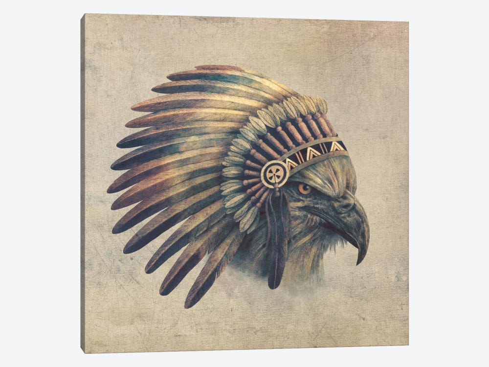 Eagle Chief #1 by Terry Fan 1-piece Canvas Print