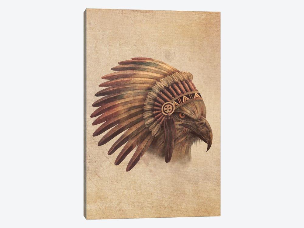 Eagle Chief Portrait #1 by Terry Fan 1-piece Canvas Art