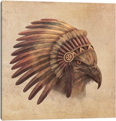 Eagle Chief #2 Canvas Art Print