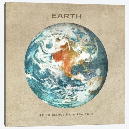 Earth I Canvas Print #TFN59} by Terry Fan Canvas Artwork