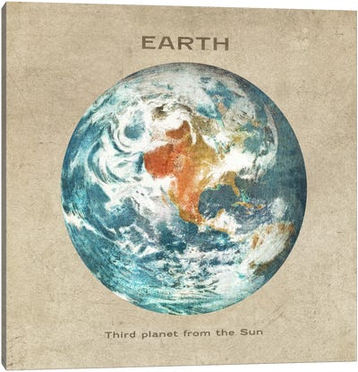 Earth I Canvas Art Print