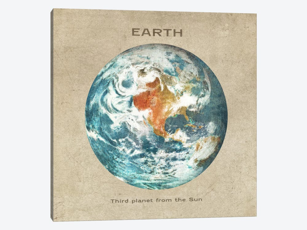 Earth I by Terry Fan 1-piece Art Print