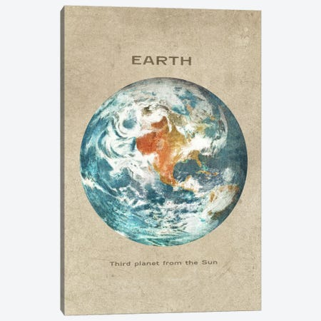 Earth Portrait Canvas Print #TFN60} by Terry Fan Canvas Art Print