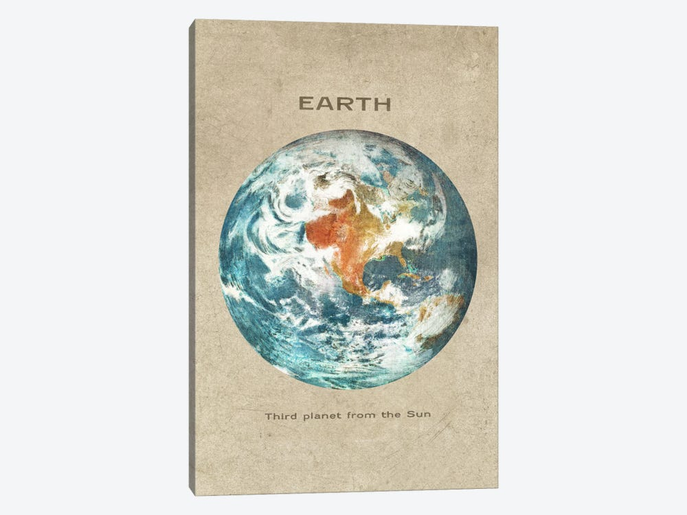 Earth Portrait by Terry Fan 1-piece Canvas Print