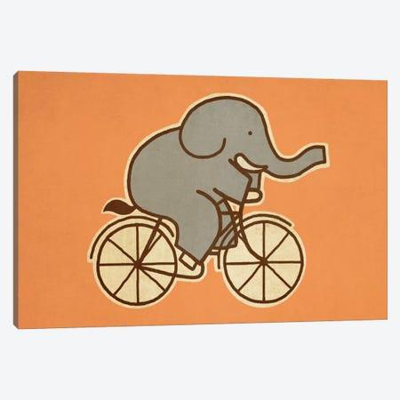 Elephant Cycle Landscape #1 Canvas Print #TFN63} by Terry Fan Art Print
