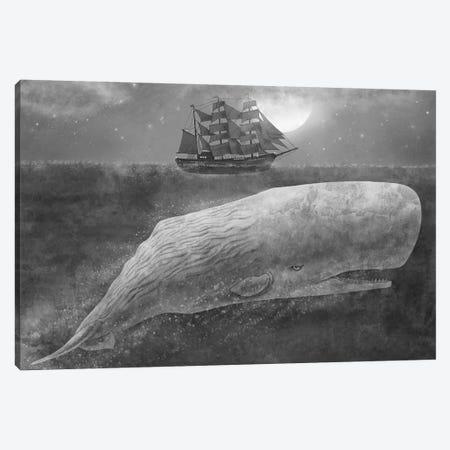 Far From Nantucket Mono Canvas Print #TFN72} by Terry Fan Canvas Artwork
