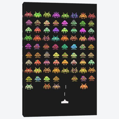 Fashionable Invaders Canvas Print #TFN75} by Terry Fan Canvas Print