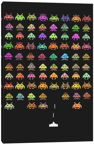 Fashionable Invaders Canvas Print #TFN75