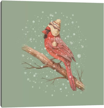 First Snow #2 Canvas Art Print