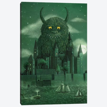 Age Of The Giants Canvas Print #TFN7} by Terry Fan Canvas Artwork