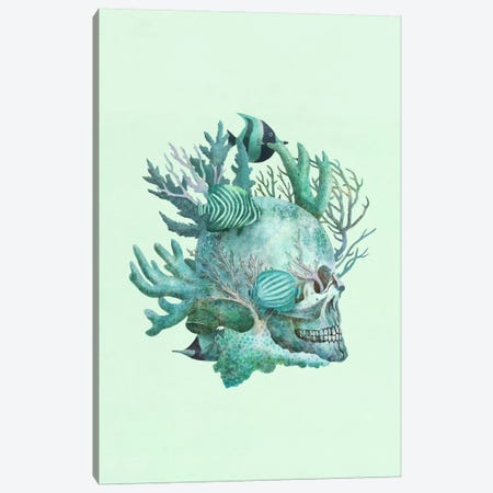 Full Fathom Five Portrait Canvas Print #TFN92} by Terry Fan Canvas Art