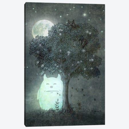 Full Moon Spirit Canvas Print #TFN93} by Terry Fan Canvas Wall Art