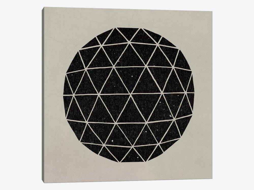 Geodesic #1 1-piece Canvas Wall Art