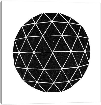 Geodesic #2 Canvas Art Print