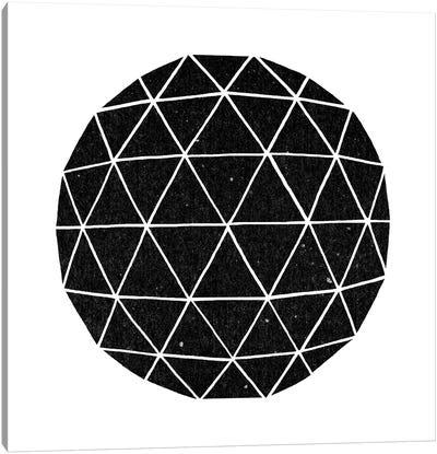 Geodesic #2 Canvas Art Print