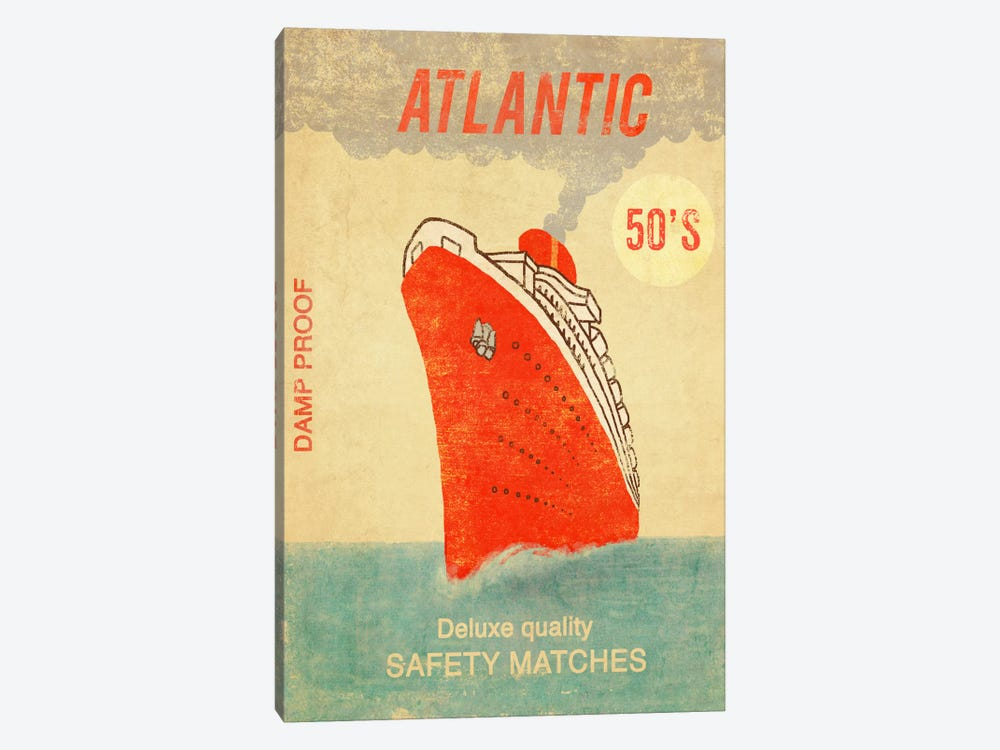 Atlantic Safety Matches 1-piece Canvas Wall Art