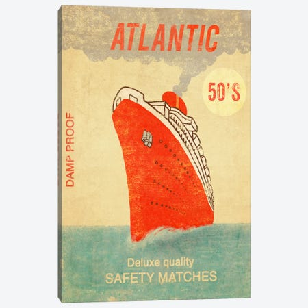 Atlantic Safety Matches Canvas Print #TFN9} by Terry Fan Art Print