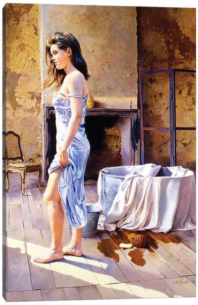 Elisa e la Tinozza Canvas Art Print