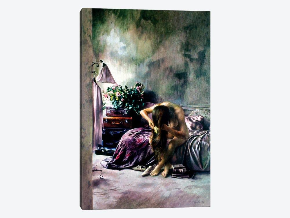 Interno Viola by Titti Garelli 1-piece Art Print