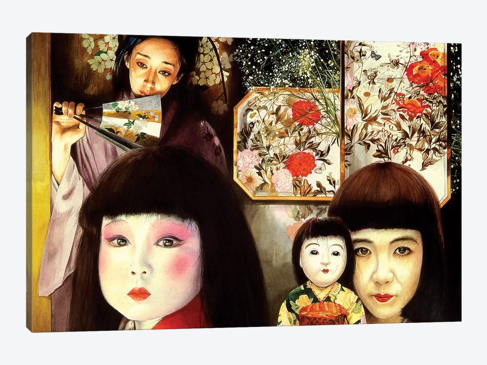 Japan by Titti Garelli 1-piece Canvas Wall Art