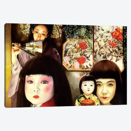 Japan Canvas Print #TGA18} by Titti Garelli Canvas Artwork