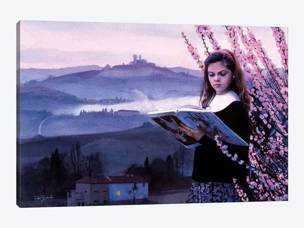 Letture e Langhe by Titti Garelli 1-piece Canvas Print