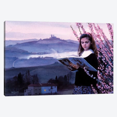 Letture e Langhe Canvas Print #TGA28} by Titti Garelli Canvas Art Print