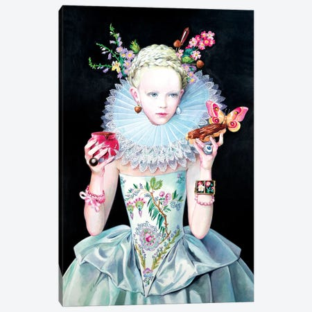 Ninsola Canvas Print #TGA30} by Titti Garelli Canvas Wall Art
