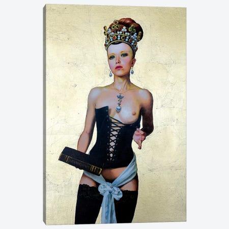 Regina Erotica - Agnes Canvas Print #TGA35} by Titti Garelli Art Print