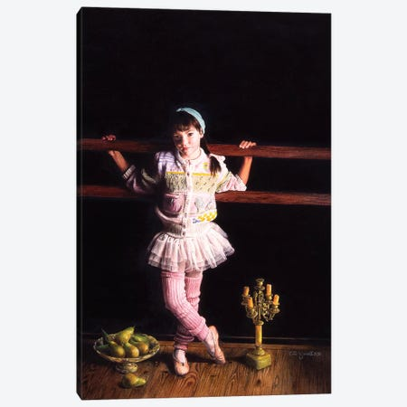 Ballerina II Canvas Print #TGA3} by Titti Garelli Art Print