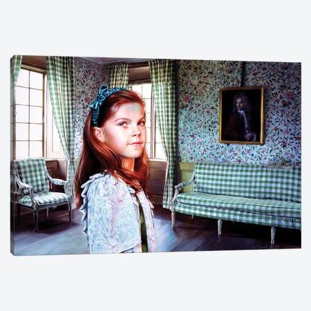 Ritratti in una Camera Verde III Canvas Print #TGA40} by Titti Garelli Canvas Art Print