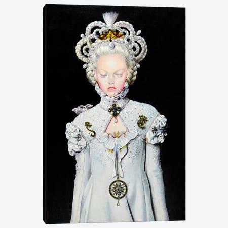 Moon Moth Pounou Queen Canvas Print #TGA43} by Titti Garelli Canvas Art Print