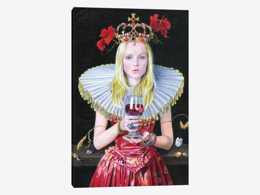 Barolo Queen by Titti Garelli 1-piece Canvas Artwork