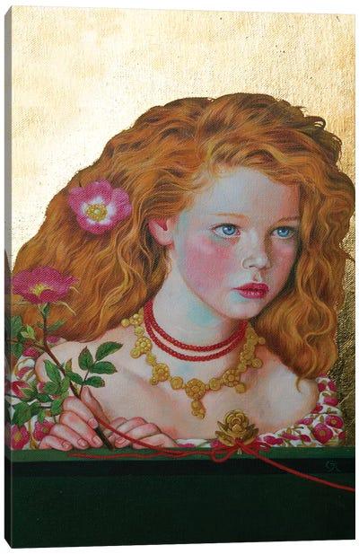Fair Rosamunde Canvas Art Print