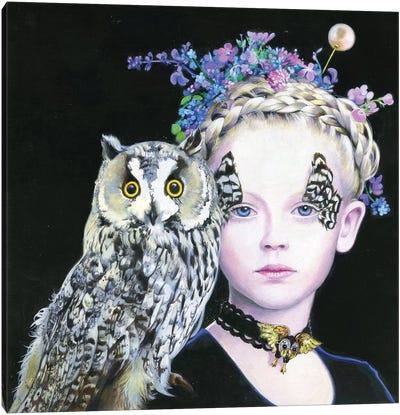 Il Gufo e La Principessa Canvas Art Print