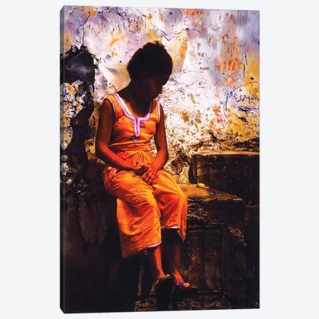 Bambina Marocchina Canvas Print #TGA4} by Titti Garelli Canvas Wall Art