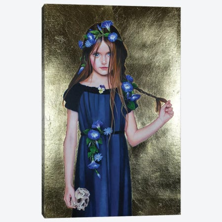 Ophelia Canvas Print #TGA50} by Titti Garelli Canvas Wall Art