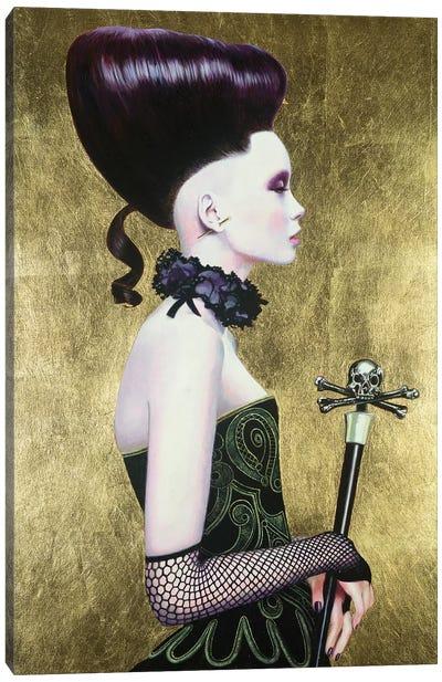 Punu Dark Queen Canvas Art Print