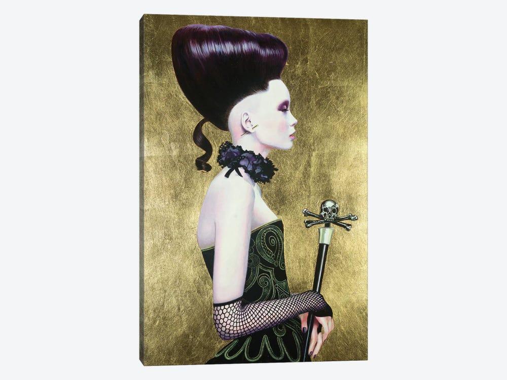 Punu Dark Queen by Titti Garelli 1-piece Canvas Print