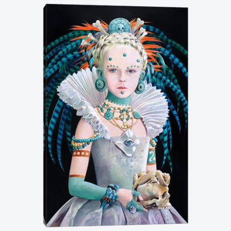 Regina Maya Canvas Print #TGA54} by Titti Garelli Canvas Print