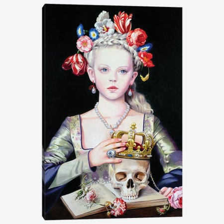 Vanitas Canvas Print #TGA56} by Titti Garelli Canvas Print