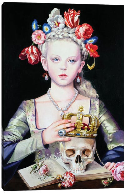 Vanitas Canvas Art Print