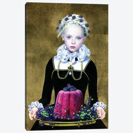 Blackberry Pudding Canvas Print #TGA58} by Titti Garelli Canvas Wall Art