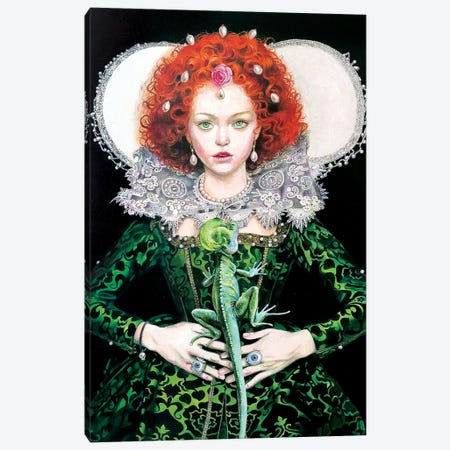Elizabeth E Il Basilisco Canvas Print #TGA60} by Titti Garelli Canvas Print