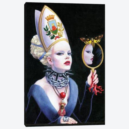 Lust-Regina Monregalese Canvas Print #TGA61} by Titti Garelli Art Print