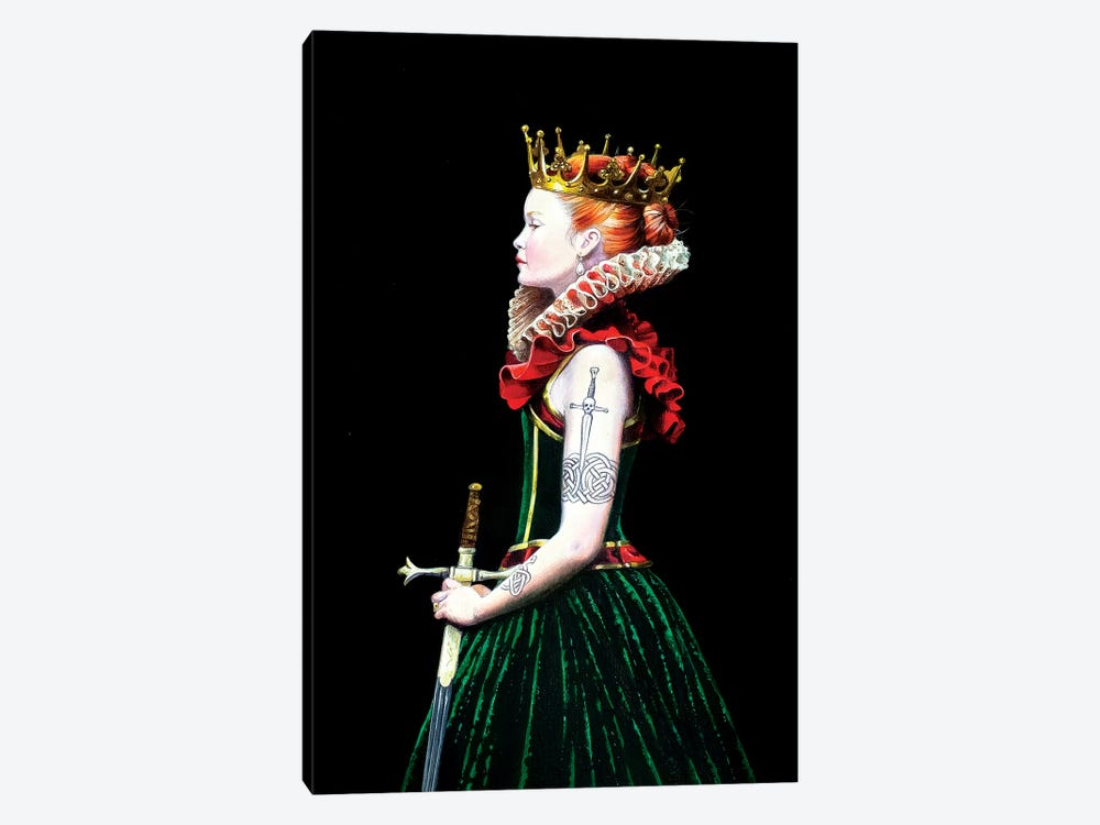 Regina Guerriera by Titti Garelli 1-piece Canvas Print