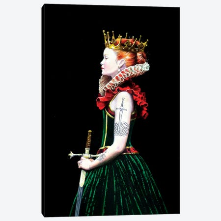 Regina Guerriera Canvas Print #TGA64} by Titti Garelli Canvas Artwork
