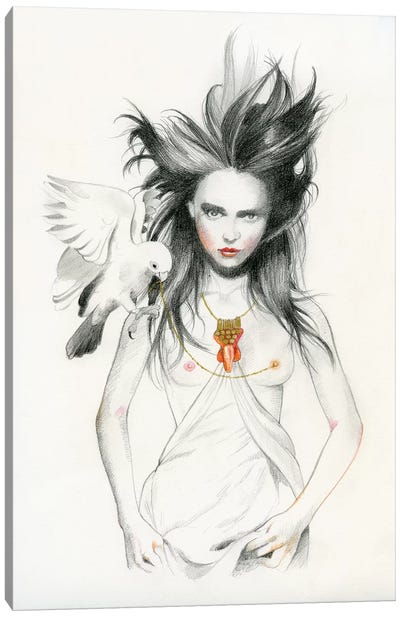 Queen I - Zenobia Canvas Art Print
