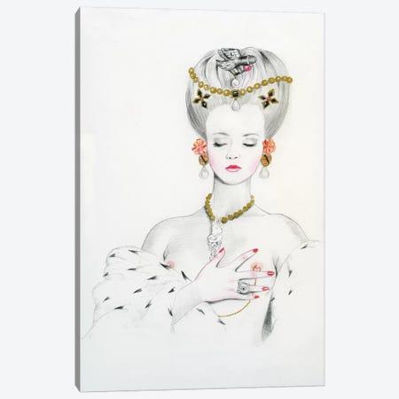 Queen II - Anna Canvas Print #TGA67} by Titti Garelli Canvas Artwork