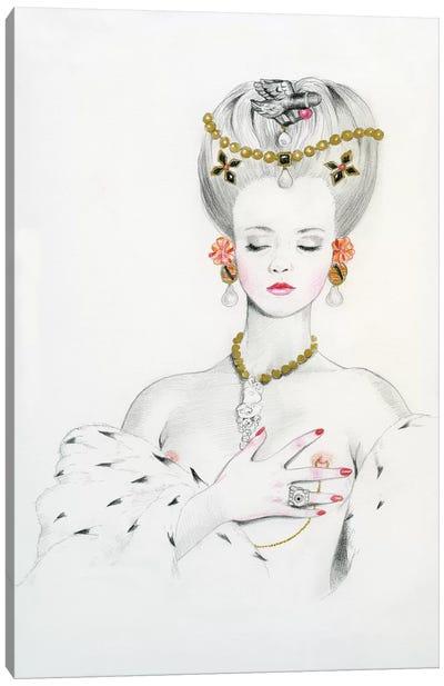 Queen II - Anna Canvas Art Print